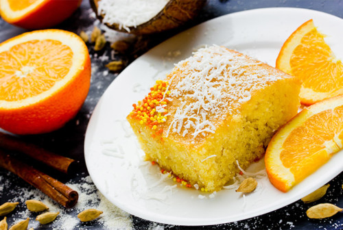 Aucoindemarue Courses En Ligne CAKE A L'ORANGE