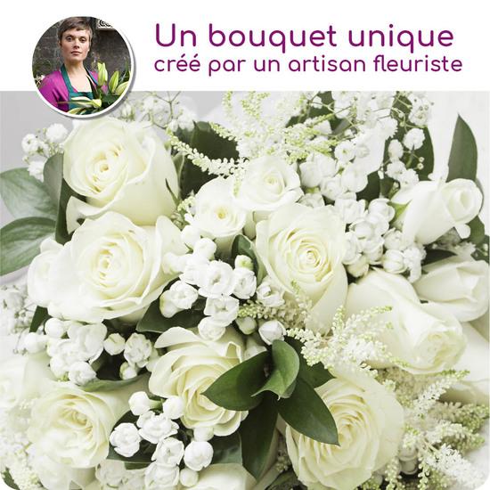 Au Coin De Ma Rue Courses En Ligne Bouquet De Fleurs Deuil