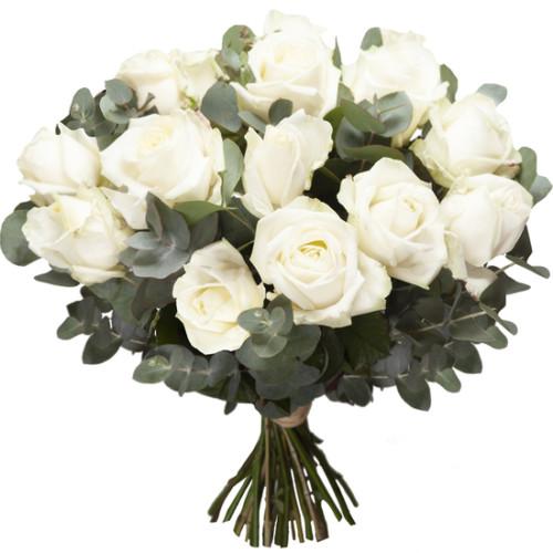 Au Coin De Ma Rue Courses En Ligne Bouquet De Roses Blanches2