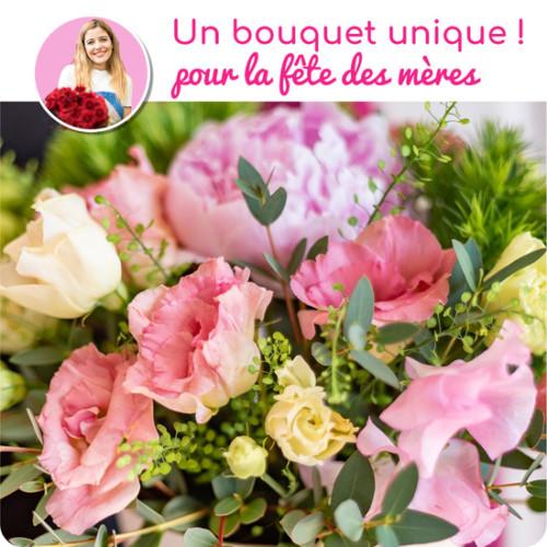 Au Coin De Ma Rue Courses En Ligne Bouquet Du Fleuriste Fete Des Meres