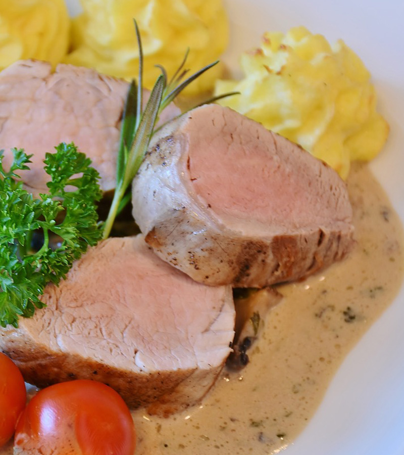 Aucoindemarue Courses En Ligne FILET MIGNON DE PORC SAUCE MOUTARDE A LANCIENNE 4 PORTIONS