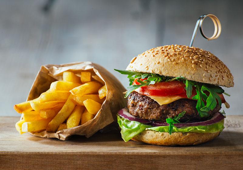 Au Coin De Ma Rue Courses En Ligne Burger Frites