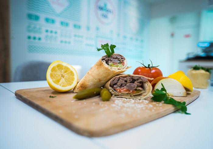 Courses En Ligne Roll Shawarma