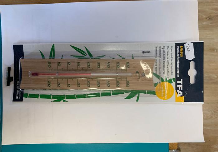 Courses En Ligne Thermomètre Bambou